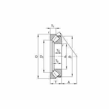 22216EF800 SNR Упорные роликовые подшипники