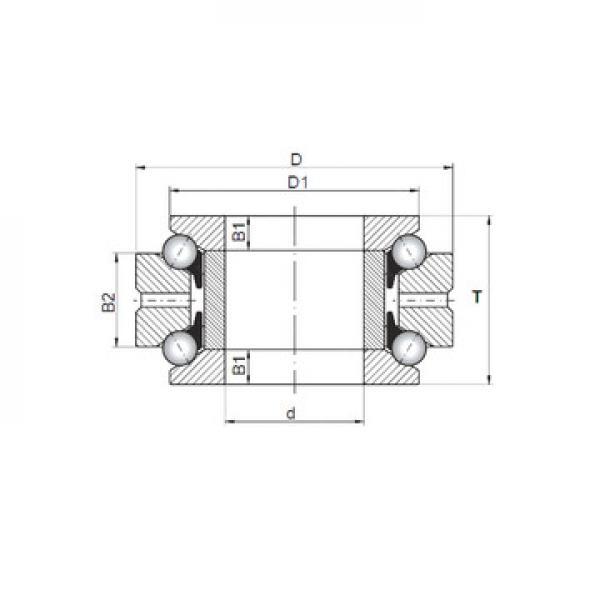 NU 236 ECML SKF Упорные шарикоподшипники