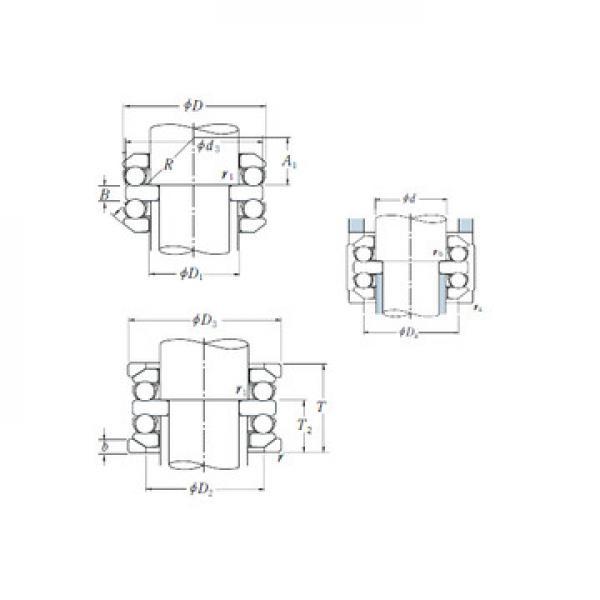 ZBL.20.0644.201-2SPTN ISB Упорные шарикоподшипники