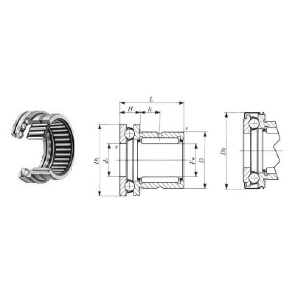 ZK.22.1100.100-1SPPN ISB Упорные шарикоподшипники