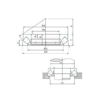 K81208TN SKF Упорные роликовые подшипники