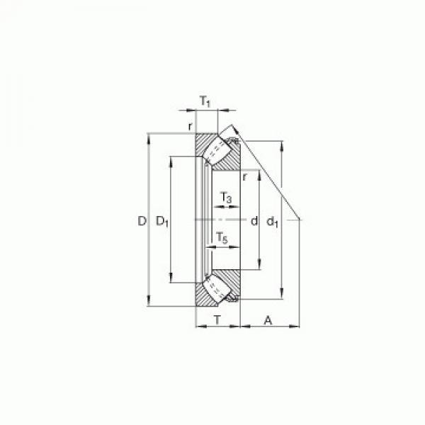 29317 M ISO Упорные роликовые подшипники