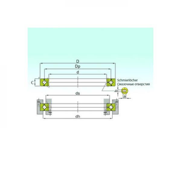 XSU 14 0544 INA Упорные роликовые подшипники